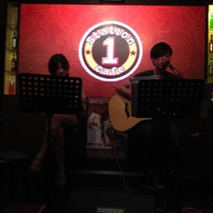 Photo taken at Station 1 Café by Xiao A. on 7/26/2012