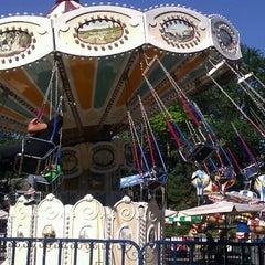 Victorian Gardens Amusement Park Central Park New York Ny