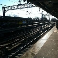 Photo taken at Metro North - Milford Train Station by Dash Von M. on 11/24/2011