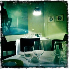 Photo taken at Osteria Francescana by Tunde P. on 3/17/2012