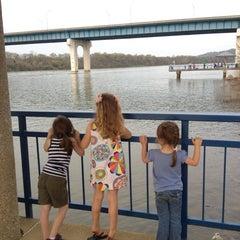 Photo taken at Robinson Bridge by Kristin W. on 3/17/2012