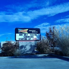 Photo taken at SONIC Drive In by Sheryl R. on 12/20/2011