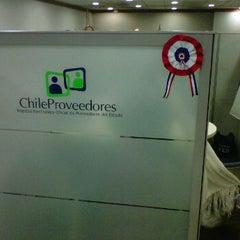 Photo taken at Chilecompra by Ricardo C. on 9/22/2011