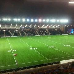 Photo taken at Select Security Stadium Halton by David M. on 2/3/2012