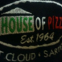 Photo taken at House of Pizza by Tom C. on 2/22/2012