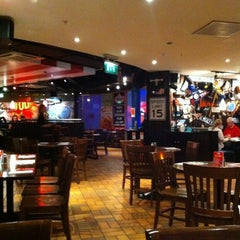 Photo taken at TGI Friday's by Brian G. on 10/5/2011