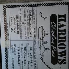 Photo taken at Harrows Chicken Pies by Neville W. on 2/19/2012