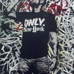 Photo taken at Pop International Galleries by Lauren R. on 3/22/2012