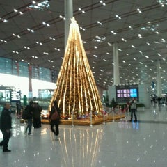 Photo taken at Beijing Capital Int'l Airport 北京首都国际机场 (PEK) by Sanghyun P. on 12/3/2011
