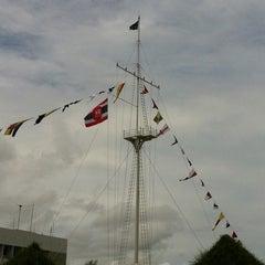 Photo taken at กองบัญชาการทัพเรือภาคที่2 by Yee M. on 7/21/2012