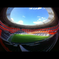 Photo taken at Donbass Arena / Донбасс Арена by Maxim on 8/19/2012