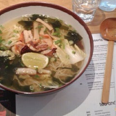 Photo taken at Wagamama by Ahmad M. on 9/10/2011