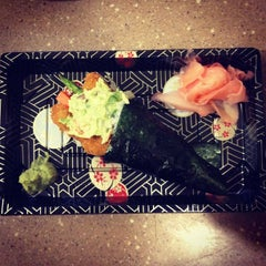 Photo taken at Sushi on McKinney by Samuel P. on 4/29/2012