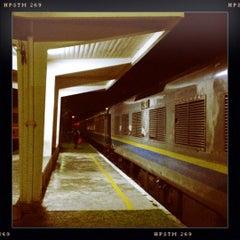 Photo taken at Stesen Keretapi Kluang by Mun L. on 3/23/2012