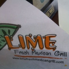 Photo taken at Lime Fresh Grill by Luciano R. on 11/16/2011