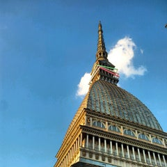 Photo taken at Mole Antonelliana by Arjan d. on 6/4/2012