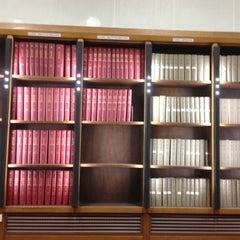 Photo taken at Bibliothèque Cujas by Ghazal H. on 1/3/2012