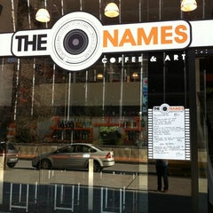 Photo taken at The Names Coffee & Art by Mariana C. on 2/11/2011