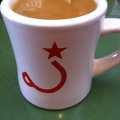 Photo taken at Ritual Coffee Roasters by Rebecca on 8/6/2012