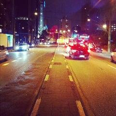 Photo taken at Avenida Santo Amaro by Iron N. on 12/2/2011