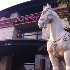 Photo taken at P.F. Chang's by Carlos J. on 3/20/2011