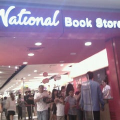 Photo taken at National Book Store by Nini d. on 6/5/2012