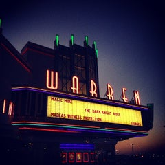Photo taken at Warren Theatre by Daniel S. on 7/25/2012