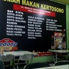 Photo taken at Rumah Makan Kertosono by Kudi A. on 7/28/2012