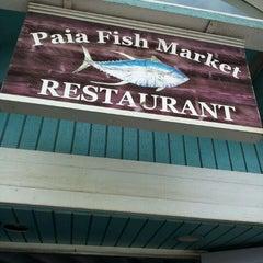Photo taken at Paia Fish Market Restaurant by Linda L. on 11/11/2011