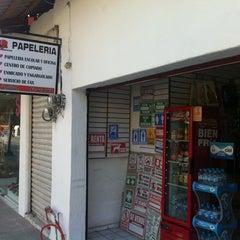 Photo taken at Papeleria Vicky by Fernando C. on 6/5/2012