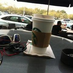 Photo taken at Starbucks   ستاربكس by Ali A. on 3/14/2012