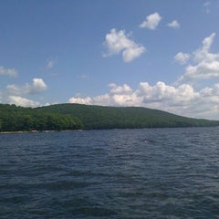 Photo taken at Deep Creek Lake by Matt M. on 9/9/2011