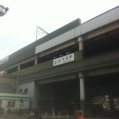 Photo taken at 近鉄 布施駅 (Fuse Sta.) by 右京 久. on 3/20/2012