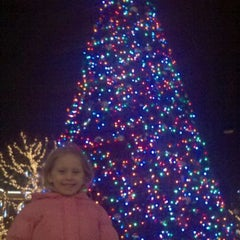 Photo taken at Town Square Fountain by Parnell K. on 11/20/2011