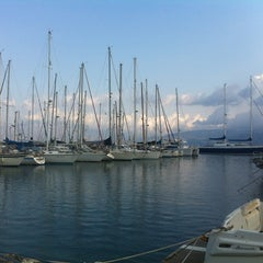 Photo taken at Port Of Crete by Ksenia G. on 9/13/2012