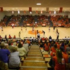 Photo taken at Jervey Gym by Brad L. on 1/19/2012