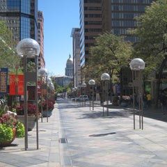 Photo taken at 16th Street Mall by Anthony S. on 1/8/2012