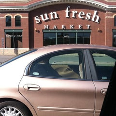 Photo taken at Marsh's Sun Fresh Market by Alan P C. on 9/19/2011