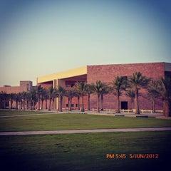 Photo taken at Texas A&M University at Qatar | جامعة تكساس إي أند أم في قطر by Hossam H. on 6/5/2012