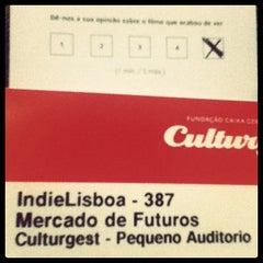 Photo taken at Culturgest by José M. on 4/28/2012
