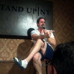 Photo taken at Stand Up NY by Dennis X. on 1/28/2012