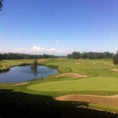 Photo taken at Palazzo Arzaga Hotel Lake Garda - Spa & Golf Club Resort by Corinne S. on 6/13/2012