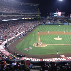 Photo taken at Angels Stadium Club Level by Hans d. on 8/15/2012