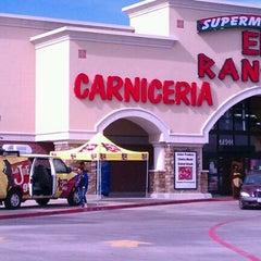 Photo taken at El Rancho Supermercado by Jesse L. on 11/12/2011