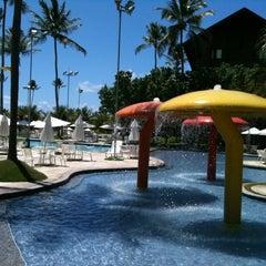 Photo taken at Marulhos Muro Alto Resort by Fabio G. on 3/9/2012