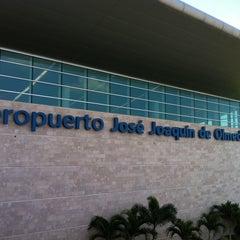 Photo taken at Aeropuerto Internacional José Joaquín de Olmedo (GYE) by Andres O. on 4/18/2011