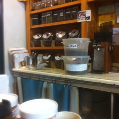 Photo taken at The Coffee Roaster by Miguel V. on 12/22/2011