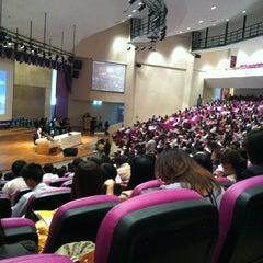 Photo taken at มหาวิทยาลัยมหาสารคาม (Mahasarakham University) by เดียร์ on 6/10/2012