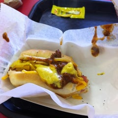 Photo taken at Mike's Chicago Hot Dogs by Harrison M. on 7/13/2012