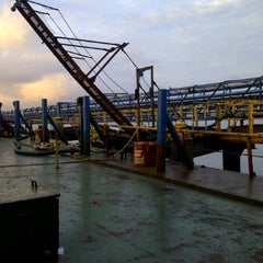 Photo taken at Jetty Wahana - PT.WBM by Edi S. on 6/7/2012
